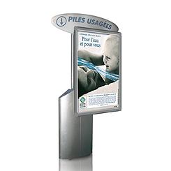 Récupérateur de piles